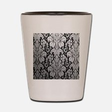 Cute Damask Shot Glass