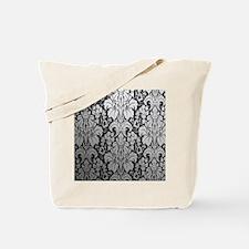 Unique Damask Tote Bag