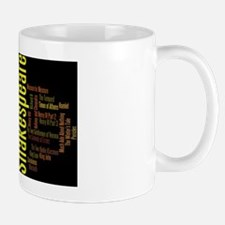 Shakespeare's Plays Small Small Mug