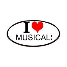 I Love Musicals Patches