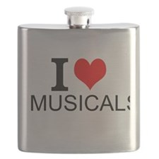 I Love Musicals Flask
