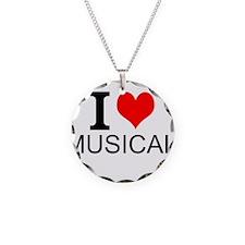 I Love Musicals Necklace