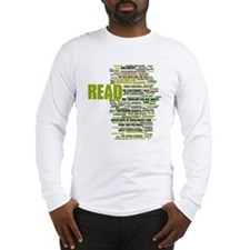 READ!  The 100 Best Books of L Long Sleeve T-Shirt