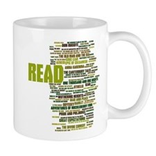 READ! The 100 Best Books of Literature Mugs