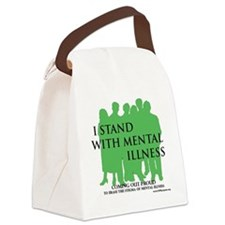 Stand With Mental Illness Canvas Lunch Bag