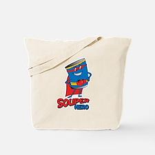 souper hero Tote Bag