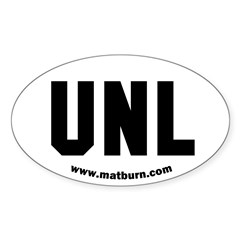 Unlimited UNL Weight Class Oval Decal