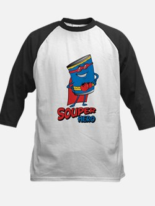 souper hero Baseball Jersey