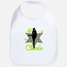 Green Cheerleader Bib