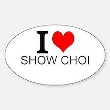 I Love Show Choir Decal