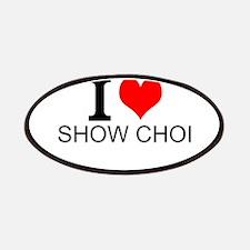 I Love Show Choir Patches