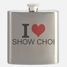 I Love Show Choir Flask