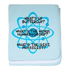 Cute Big bang quotes baby blanket