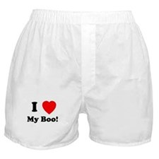 My Boo Boxer Shorts