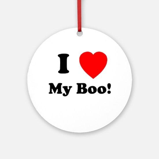 My Boo Ornament (Round)