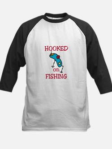 Hooked on Fishing Baseball Jersey
