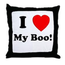 My Boo Throw Pillow