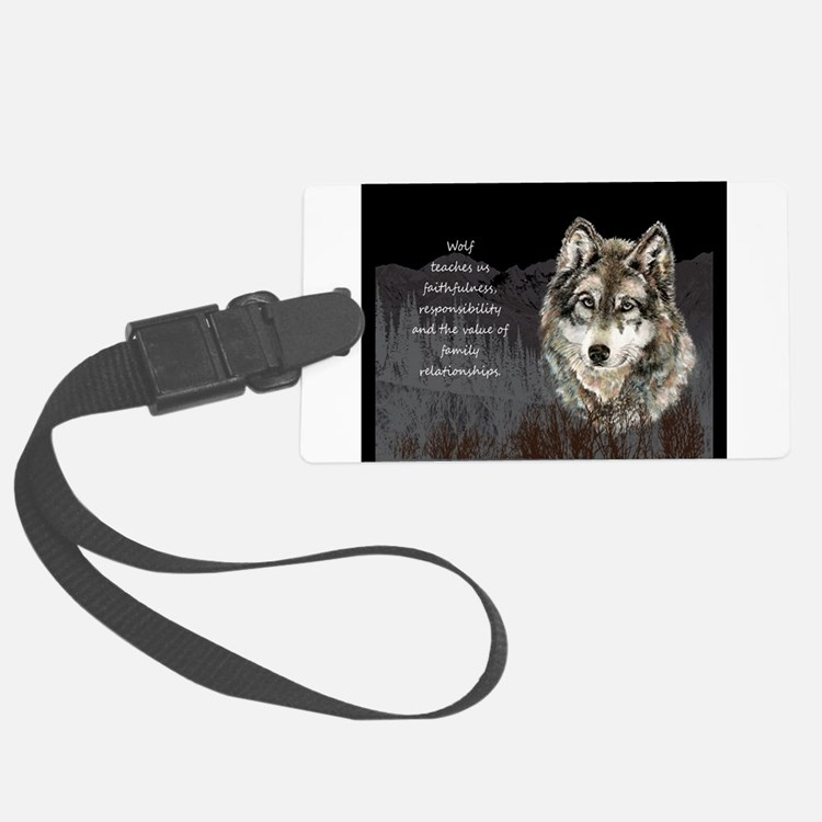 Wolf Totem Animal Spirit Guide for Inspiration Lar