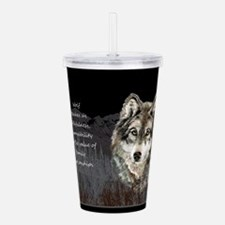 Wolf Totem Animal Spirit Guide for Inspiration Acr