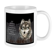 Wolf Totem Animal Spirit Guide for Inspiration Mug