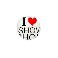 I Love Show Choir Mini Button