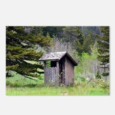 Outhouse Postcards (Package of 8)