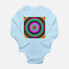 Psychedelic Circles by designeffects Body Suit