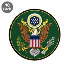 """US ARMY 3.5"""" Button (10 pack)"""