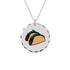 Taco Time Necklace