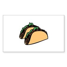 Taco Time Decal