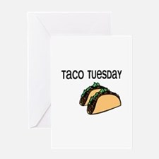 Taco Tuesday Greeting Cards