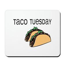 Taco Tuesday Mousepad