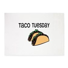 Taco Tuesday 5'x7'Area Rug