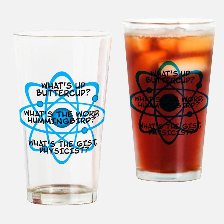 Cute Big bang theory quotes Drinking Glass