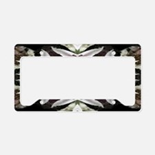 Candy Snowflake License Plate Holder