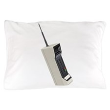 Vintage Wireless Cellular Phone Pillow Case