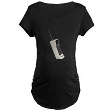 Vintage Wireless Cellular Phone Maternity T-Shirt