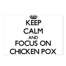 Unique Chicken pox Postcards (Package of 8)