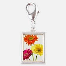 Daisy Gerbera Flowers Charms