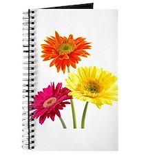 Cute Gerbera daisy Journal