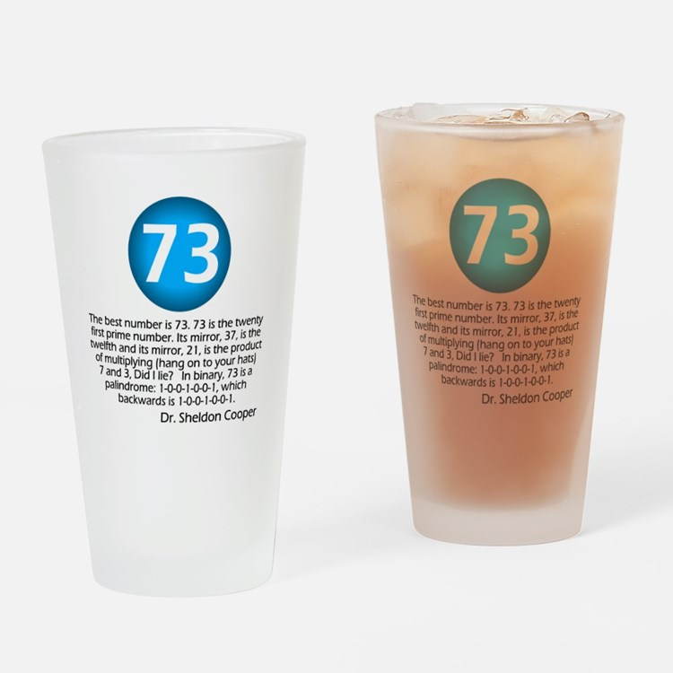 Cute Big bang 73 Drinking Glass