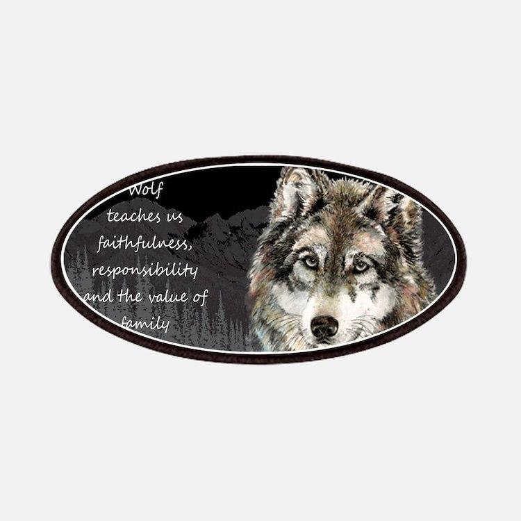 Wolf Totem Animal Spirit Guide for Inspiration Pat