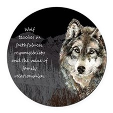 Wolf Totem Animal Spirit Guide for Inspiration Rou