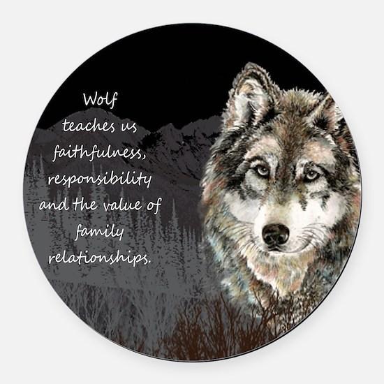 Wolf Totem Animal Spirit Guide for Inspiration Rou
