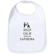 Keep Calm and Do Capoeira Bib