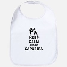 Keep Calm and Do Capoeira Bib