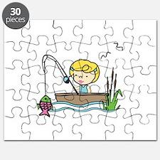 Fishing Girl Puzzle