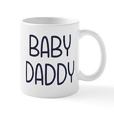 The Baby Mama Baby Daddy (i.e. father) Mugs