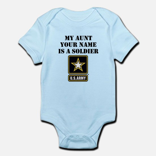 My Aunt Is A Soldier (Custom) Body Suit