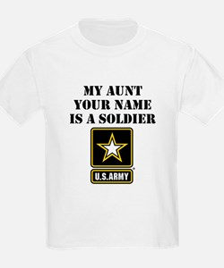 My Aunt Is A Soldier (Custom) T-Shirt